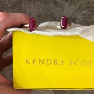 Kendra Scott Edie rose gold cuff